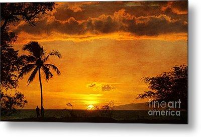 Maui Sunset Dream Metal Print