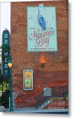 Maumee Bay Brewing Company 2135 Metal Print
