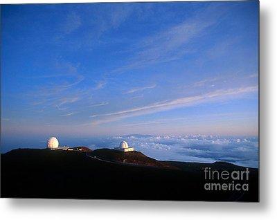 Mauna Kea Observatory Metal Print by Gregory G. Dimijian
