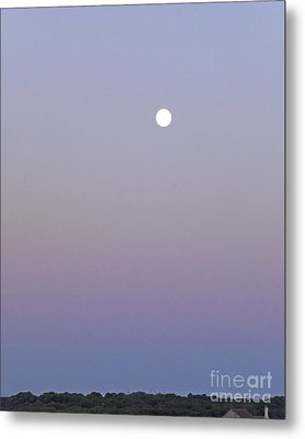 Mauve Moonlight Metal Print
