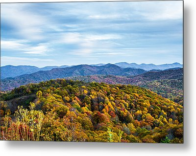 Max Patch Bald Metal Print