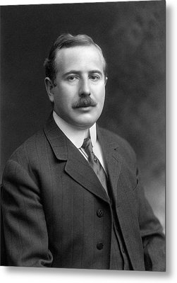 Max Wallerstein Metal Print by Williams Haynes Portrait Collection, Chemists� Club Archives/chemical Heritage Foundation