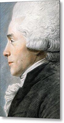 Maximilien De Robespierre  Metal Print by Joseph Boze