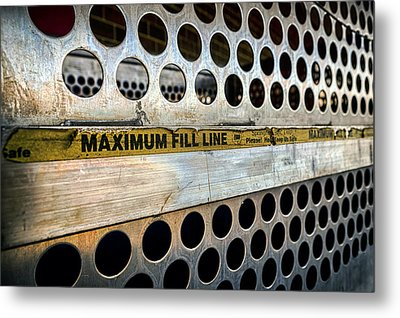 Maximum Fill Metal Print by Sennie Pierson