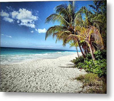 Metal Print featuring the photograph Maxwell Beach Barbados by Polly Peacock