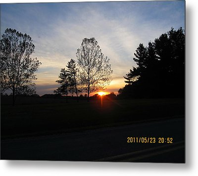 May 23 Sunset One Metal Print