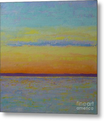 May Sunset Metal Print