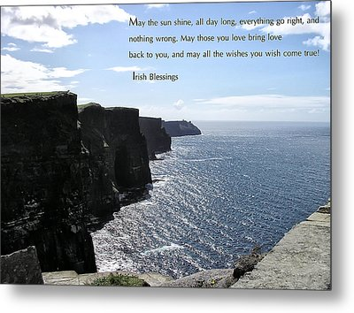 May The Sun Shine All Day Long Metal Print by Bill Cannon