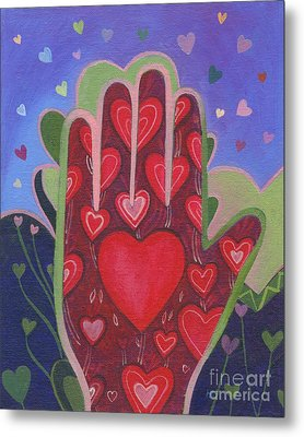 May We Choose Love Metal Print