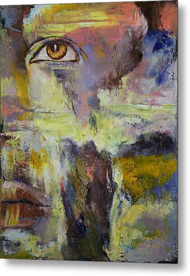 Mayan Prophecy Metal Print by Michael Creese