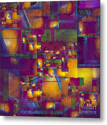 Maze Of The Heart Metal Print