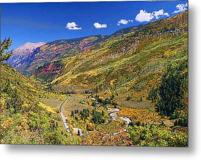 Mcclure Pass Scenic Overlook Metal Print