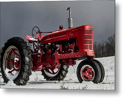 Mccormick Farmall 2 Metal Print by Anthony Thomas