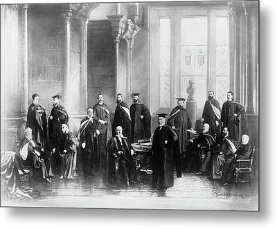 Mcgill University's Medical Faculty Metal Print by National Library Of Medicine
