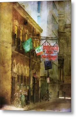 Mcgillins Olde Ale House Metal Print by John Rivera
