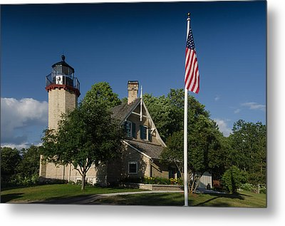Mcgulpin Lighthouse Metal Print