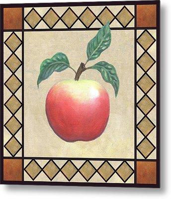 Mcintosh Apple Metal Print