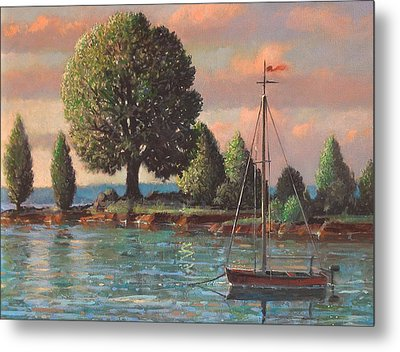 Mcmeekins Point Metal Print