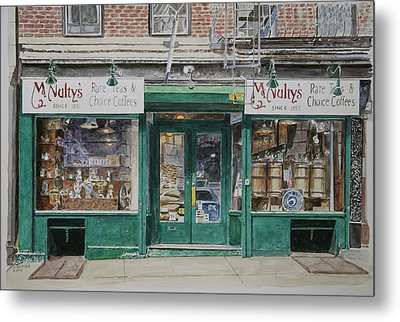 Mcnultys Coffee Metal Print by Anthony Butera