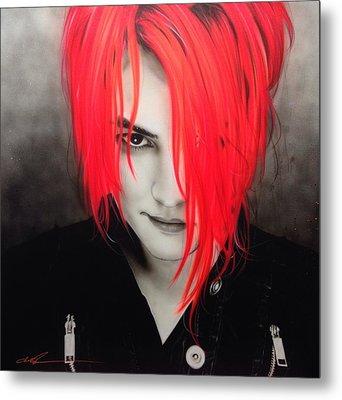 My Chemical Romance - ' M. C. R. ' Metal Print by Christian Chapman Art