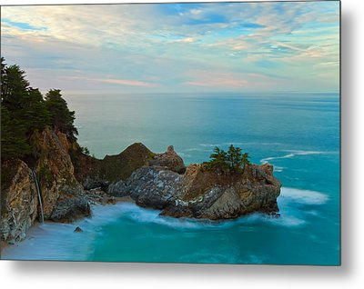 Mcway Falls At Sunrise Metal Print by Jonathan Nguyen