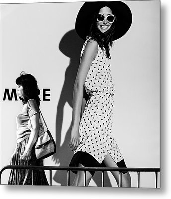 Me And My Expectations Metal Print