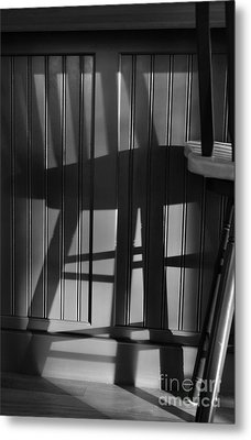 Me And My Invisible Friend Metal Print