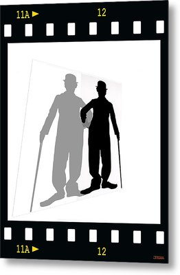 Me And My Shadow Metal Print by Jann Paxton