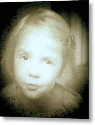 Metal Print featuring the photograph Me Too by Shirley Moravec