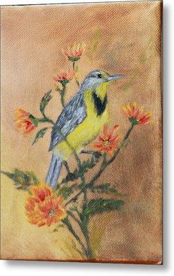 Meadowlark Metal Print