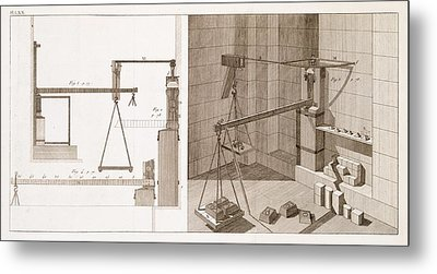 Mechanical Devices Metal Print by Science, Industry And Business Library/new York Public Library