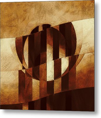 Mechanism Of Exclusion Metal Print by Lonnie Christopher