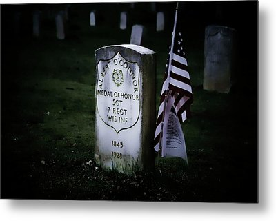 Metal Print featuring the photograph Medal Of Honor by Ron Roberts