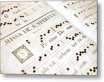 Mediavel Chorus Book  Metal Print