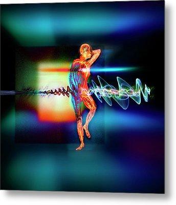 Medical Body Imaging Metal Print