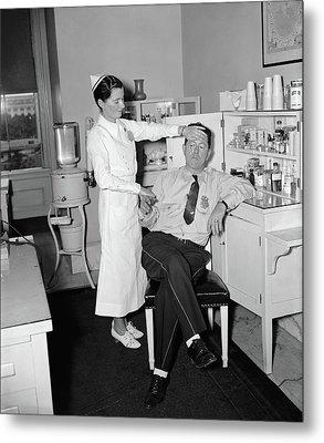 Medical Office, C1937 Metal Print by Granger