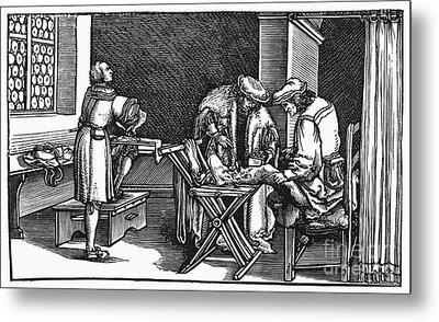 Medicine: Surgery, 1537 Metal Print by Granger