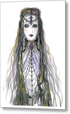 Medieval Princess Metal Print by Marian Voicu