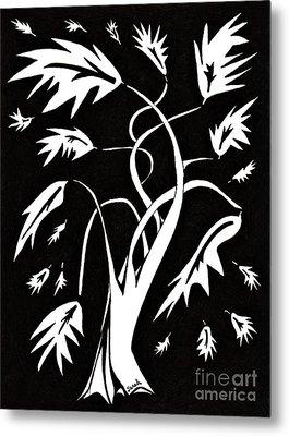 Medieval Tree Metal Print
