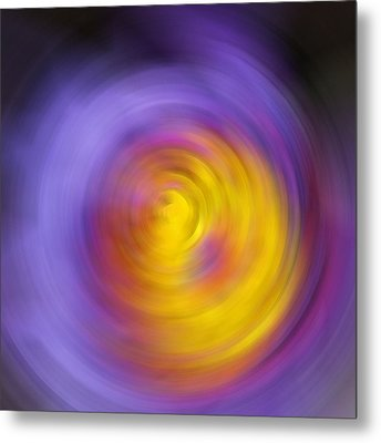 Meditation - Abstract Energy Art By Sharon Cummings Metal Print by Sharon Cummings