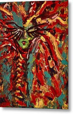 Medusa Metal Print by Jennifer Anne Harper