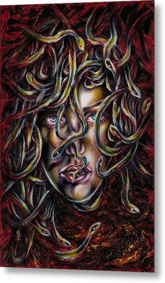 Medusa No. Three Metal Print