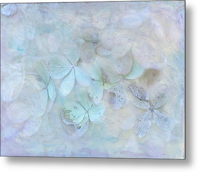 Meet Me In Petals Metal Print