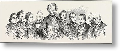 Meeting Of The British Association At Southampton Metal Print by English School