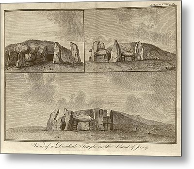 Megalithic Monument Metal Print