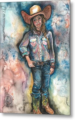Little Britches Metal Print