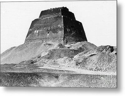 Meidum Pyramid, 1879 Metal Print by Science Source