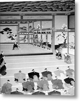 Meiji Restoration Metal Print by Granger
