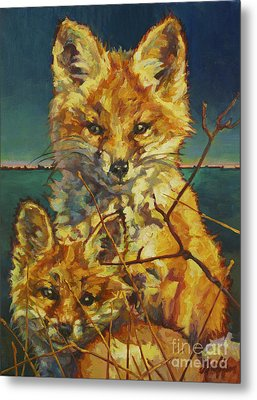Mel And Todd Metal Print by Patricia A Griffin