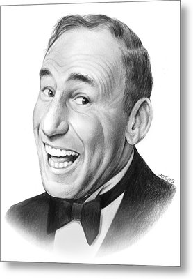 Mel Brooks Metal Print by Greg Joens